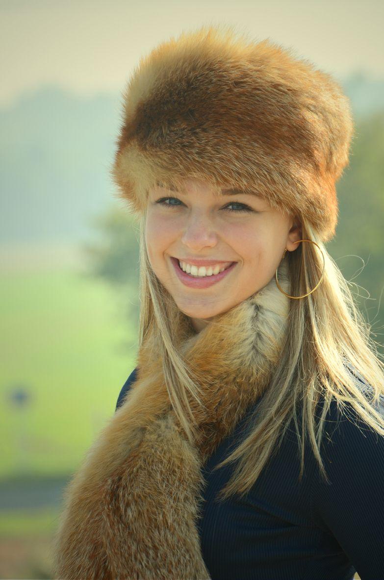Kožešinová čepice červená liška - lodička - Kožešnictví Martes ... 29bae07971
