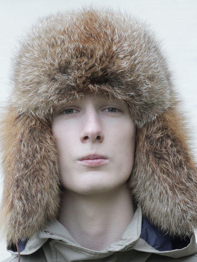 Pánská kožešinová čepice - ušanka červená liška - Kožešnictví Martes ... 493f6df636