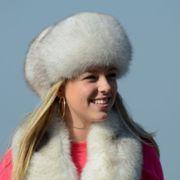 Náhled výrobku: Kožešinová čepice polární liška - pesec, lodička