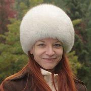 Náhled výrobku: Kožešinová čepice polární liška -pesec, kulatá