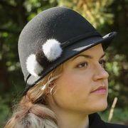 Náhled výrobku: Kožešinová ozdoba na klobouk - norek