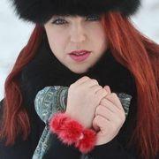 Náhled výrobku: Kožešinový náramek - norek červeno-růžový a pravé perly