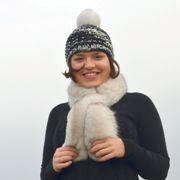Náhled výrobku: Kožešinová šála polární liška - pesec
