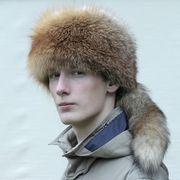 Náhled výrobku: Pánská čepice trampská s ocasem