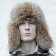 Náhled výrobku: Pánská kožešinová čepice - ušanka červená liška