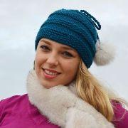 Náhled výrobku: Pletená čepice vroubkovaná