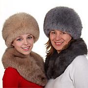 Dámské kožešinové čepice, ušanky a klobouky
