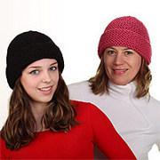 Ručně pletené výrobky kombinované s kožešinou