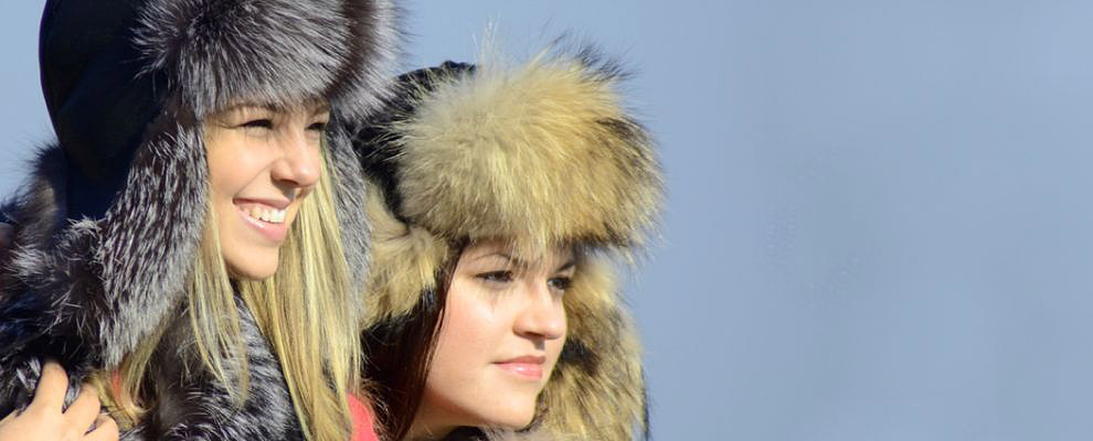 Fur coats, hats, ushankas, collars...